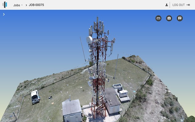 23_AI_SiteSee Deploys ContextCapture to Model Communication Towers, and Achieves 98% Recognition Accuracy (2)