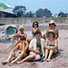 At 13 years old, I was a bit embarrassed to be photographed with Dad, Mom and their friends at the Anchor Beach. Note the chick with long and silky blonde hair and her friend sitting on the grass in the upper right. Milford Connecticut. July 1972 by wavz13