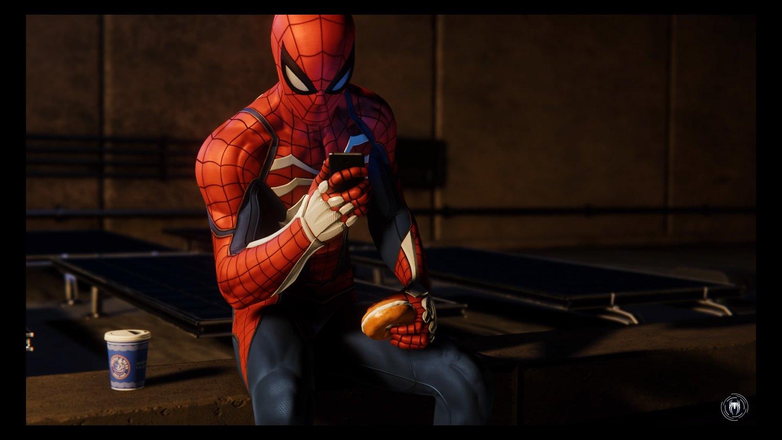 Zirnekļa cilvēks telefonā