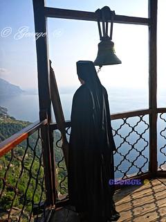 Mt Athos - Holy Monastery of Simonos Petra – Simonopetra Chalkidiki Greece. ~ Άγιο Όρος Ιερά Μονή Σίμωνος Πέτρας Χαλκιδική Ελλάδα.