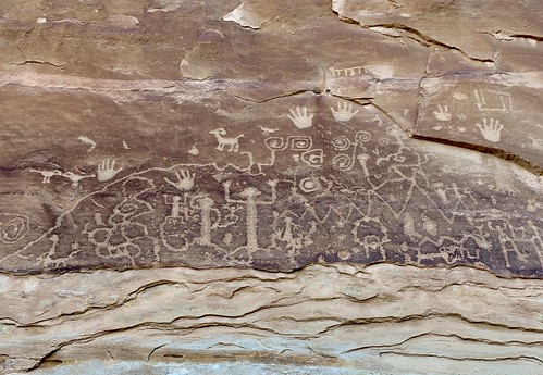 Petroglyphs at Mesa Verde National Park