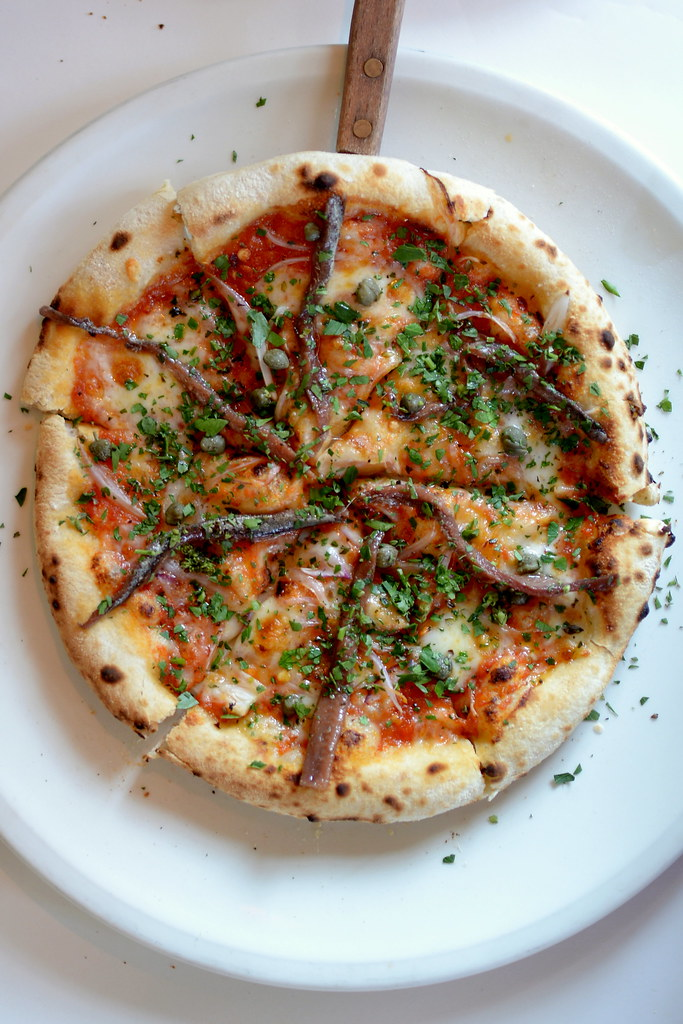 {swoon} Anchovy Pizzetta from Chez Panisse Cafe