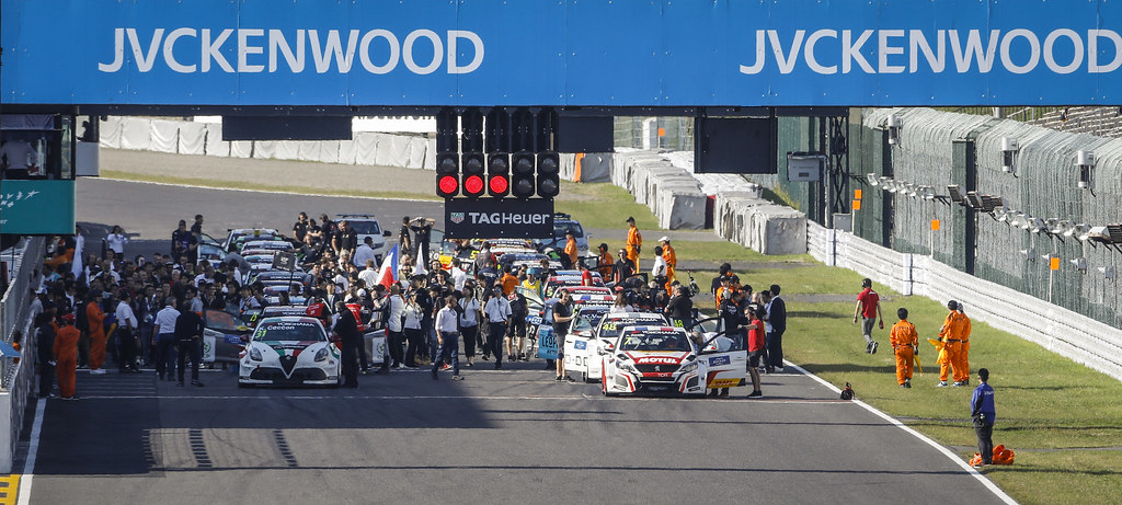 grille de depart starting grid during the 2018 FIA WTCR World Touring Car cup of Japan, at Suzuka from october 26 to 28 - Photo Francois Flamand / DPPI