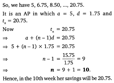 NCERT Solutions for Class 10 Maths Chapter 5 Arithmetic Progressions 46