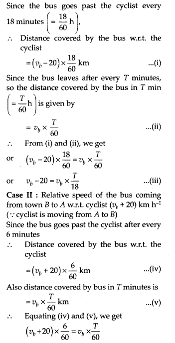 NCERT Solutions for Class 11 Physics Chapter 3 Motion in a Stright line 7