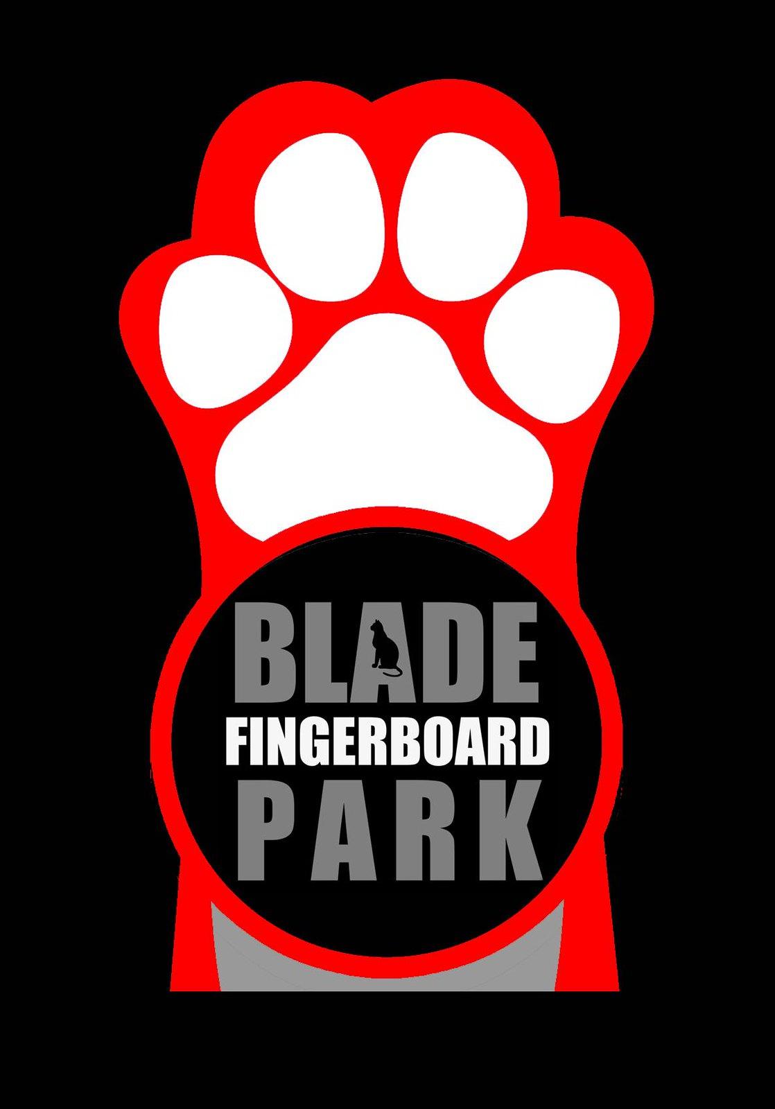blade fingerboard park red