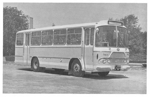 autobús Pegaso Comet amb carrosseria Zane 30 places