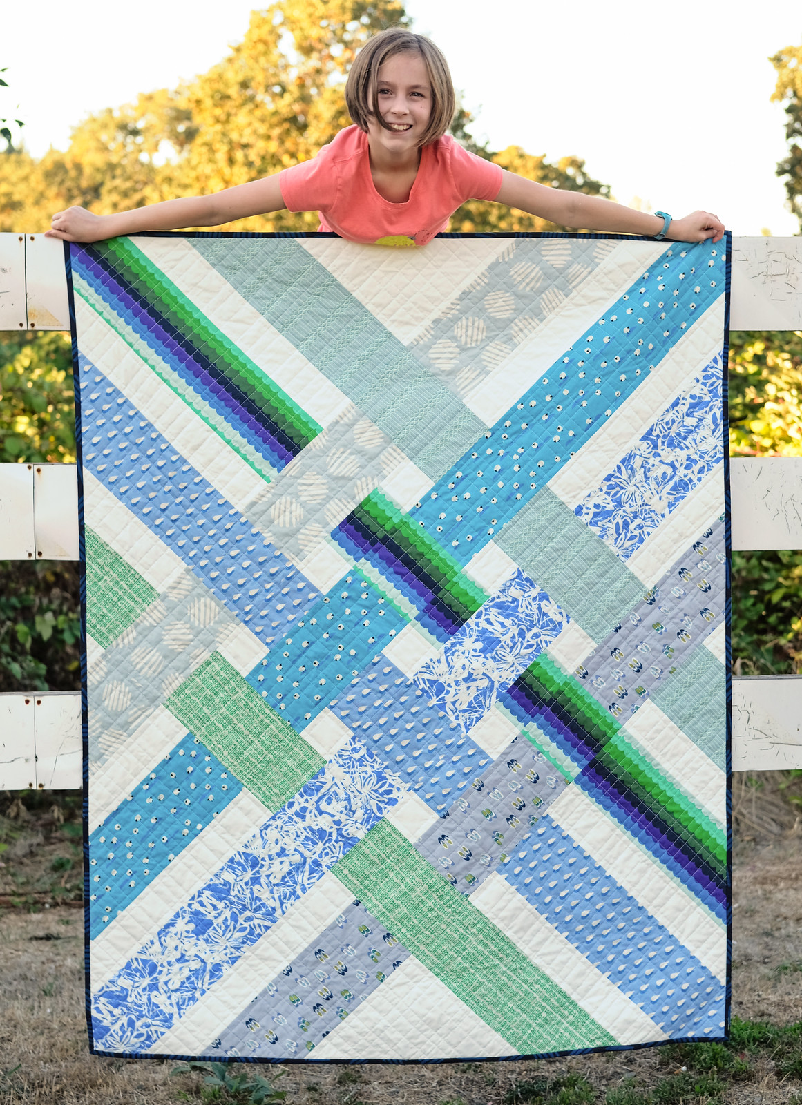 The Libby Quilt in Panorama