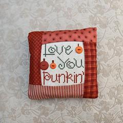 Love You Punkin' pillow