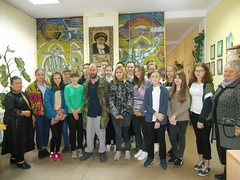 Урок мужності «Спадкоємці козацької слави».11.10.18. ім. Джамбула