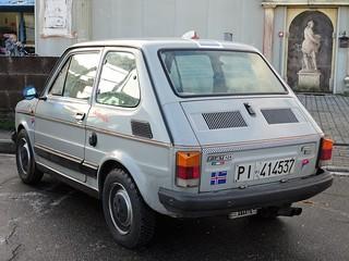 1979 Fiat 126 Silver
