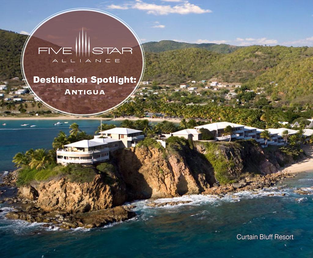 Destination Spotlight Antigua Five Star Alliance