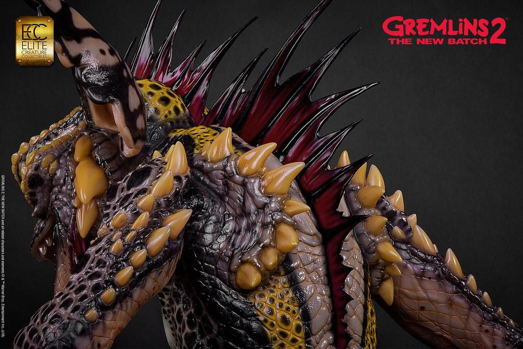 不要再欺負Gizmo 啦~~ ECC《小精靈2》龐克頭魔怪 Mohawk 1:1 比例全身雕像作品