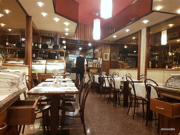 Ristorante Sant'Andrea interior