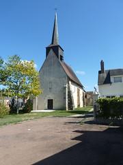 Sainte Montaine Eté2016 Église Sainte-Montaine