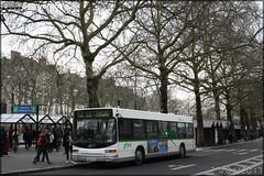 Heuliez Bus GX 317 - Semitan (Société d'Économie MIxte des Transports en commun de l'Agglomération Nantaise) / TAN (Transports en commun de l'Agglomération Nantaise) n°012