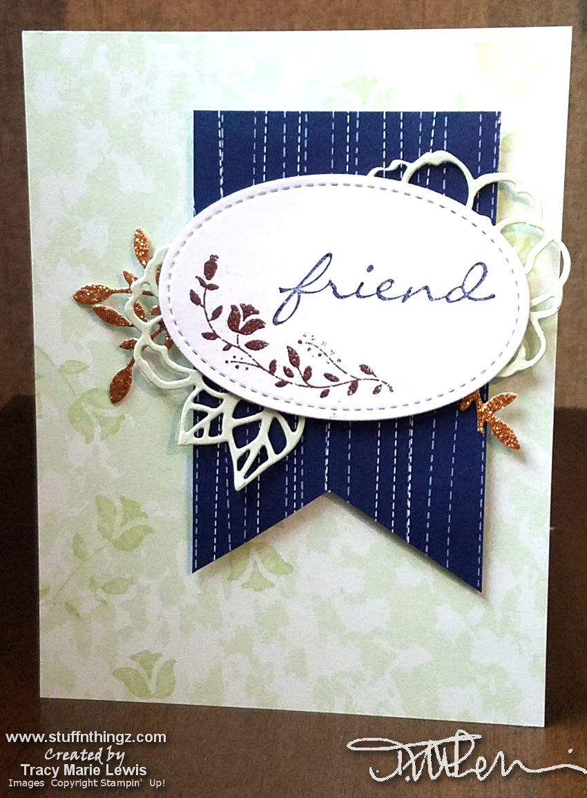 Friend Card - Nov 2018 Stamp 'N Hop | Tracy Marie Lewis | www.stuffnthingz.com