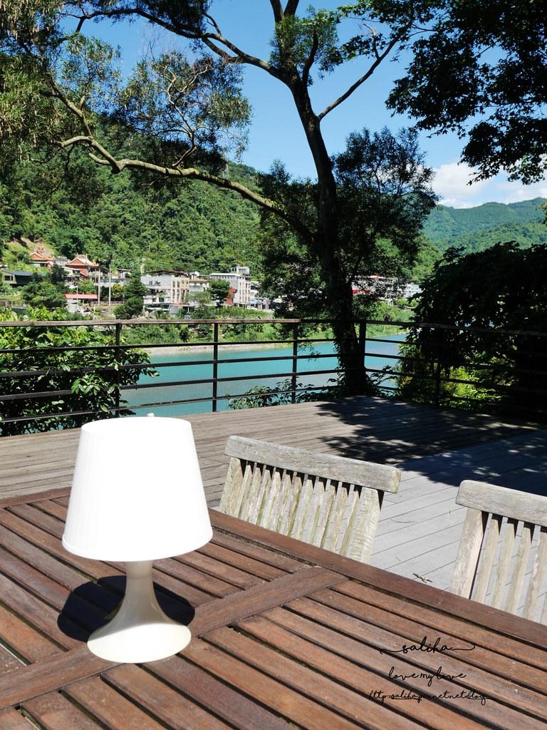 烏來一日遊景點行程La Villa Wulai景觀咖啡下午茶鬆餅 (2)