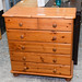 E120 solid pine chest of drawers