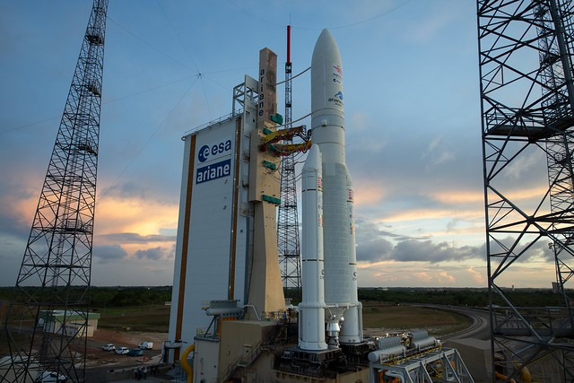 BepiColombo on the launch pad