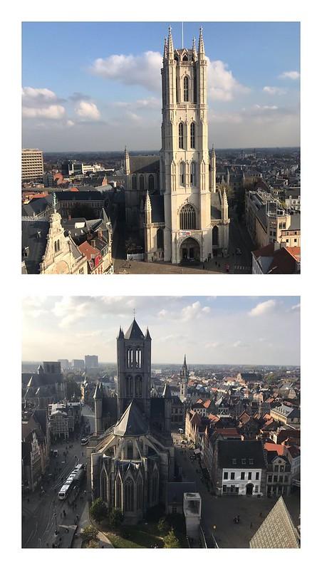 Skyline medieval de Gante
