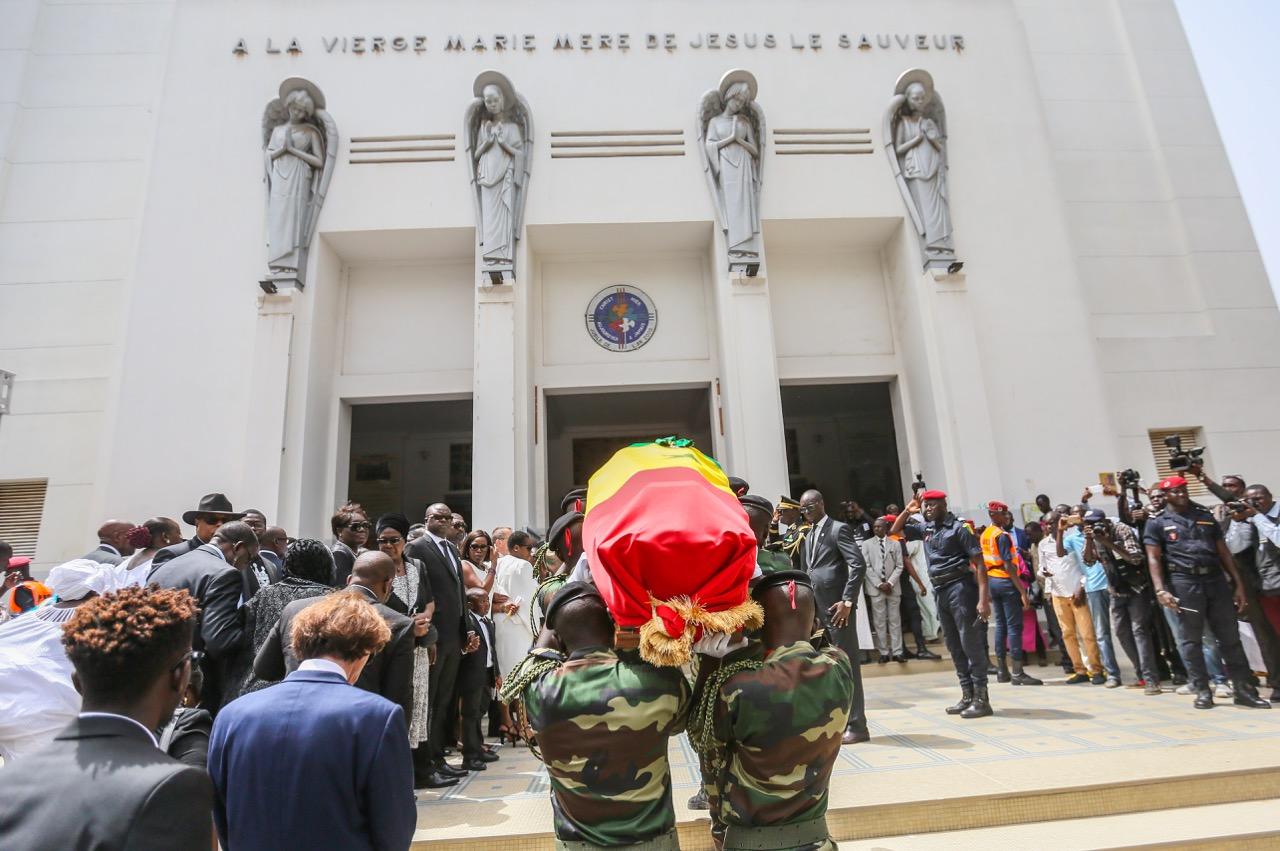 Cérémonie d'hommage national à la mémoire de Bruno Diatta