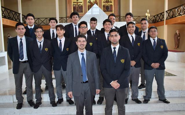 Misa Acción de Gracias Colegios Católicos en Iglesia Catedral de Valdivia