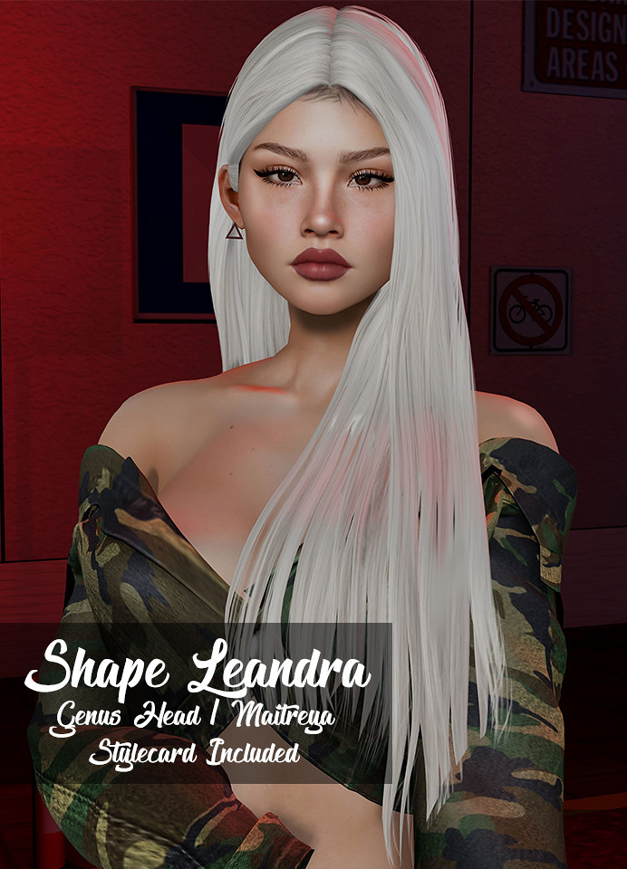 New! Shape Leandra (Genus Head) - TeleportHub.com Live!