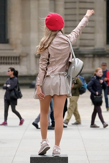 Blonde with a Red Beret 3