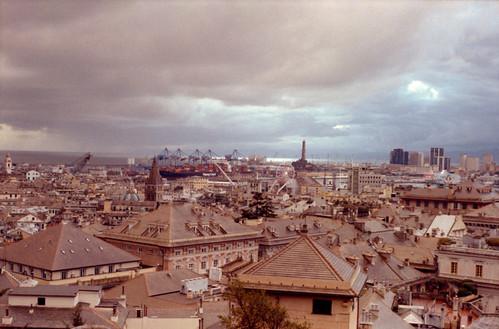 Stormy sky above Genova 3