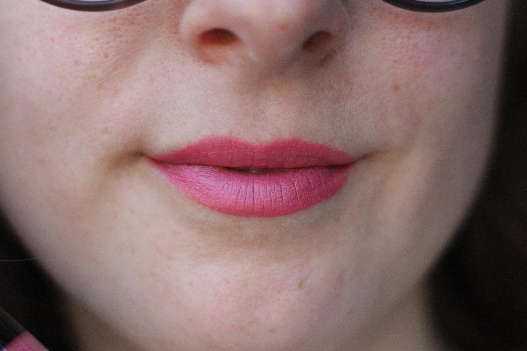 L.A. Girl Matte Flat Velvet lipstick in Hush