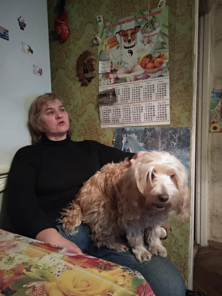 Берта дома из приюта догпорт