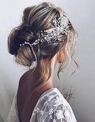 Coiffure De Mariage  : Featured Hairstyle: Ulyana Aster; www.ulyanaaster.com; Wedding hairstyles ideas.