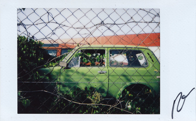 "Fujitiva_74 "" The green car """