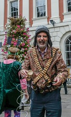 YMPST waggon play performance, St Helen's Square, 16 September 2018 - 02