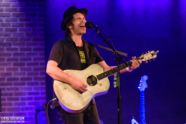 Gas Coombes performs at the City Winery in Washington, D.C.