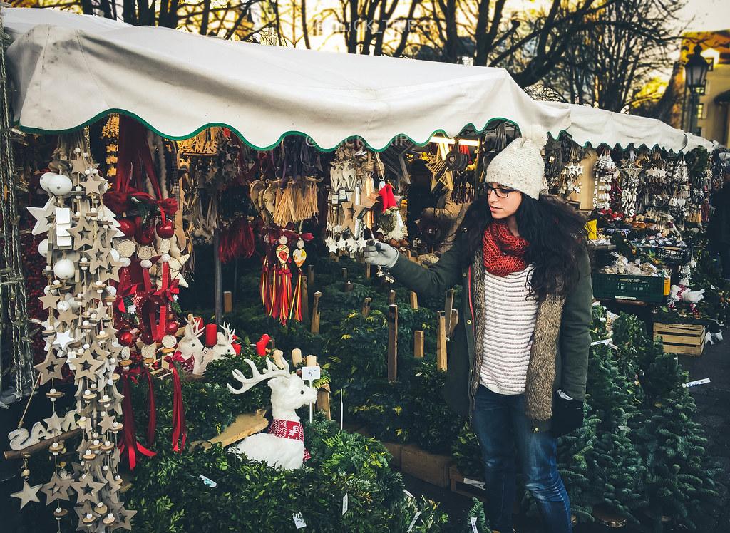 · Viktualienmarkt · Mercadillo de Navidad de Múnich ·
