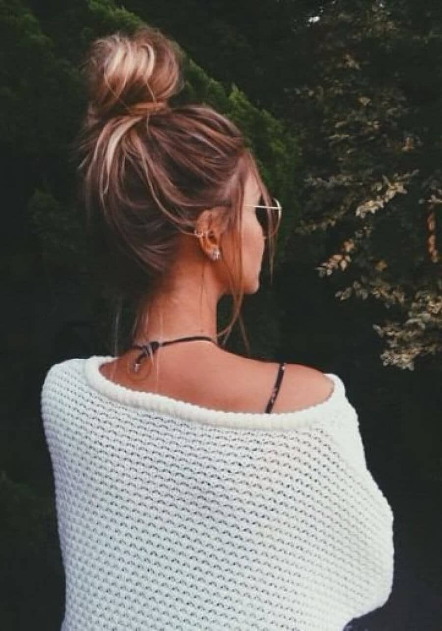 Best Adorable Bun Hairstyles 2019-Inspirations That 2