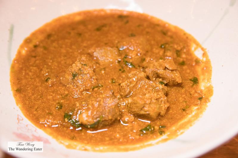 Rara Gosht - Slow-cooked lamb, lamb keema, coriander