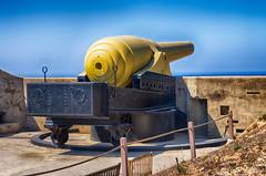 The 100-Ton Gun. Fort Rinella, Malta.