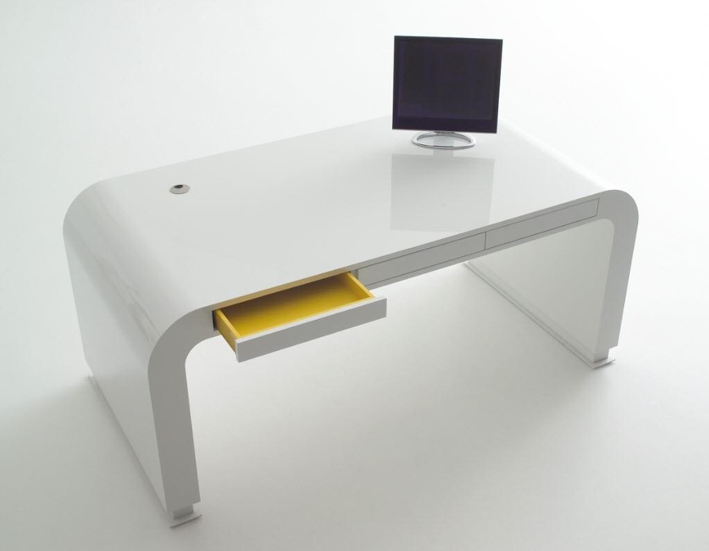 Design A Minimalist Workspace with A Smart Computer Desk - Image 1