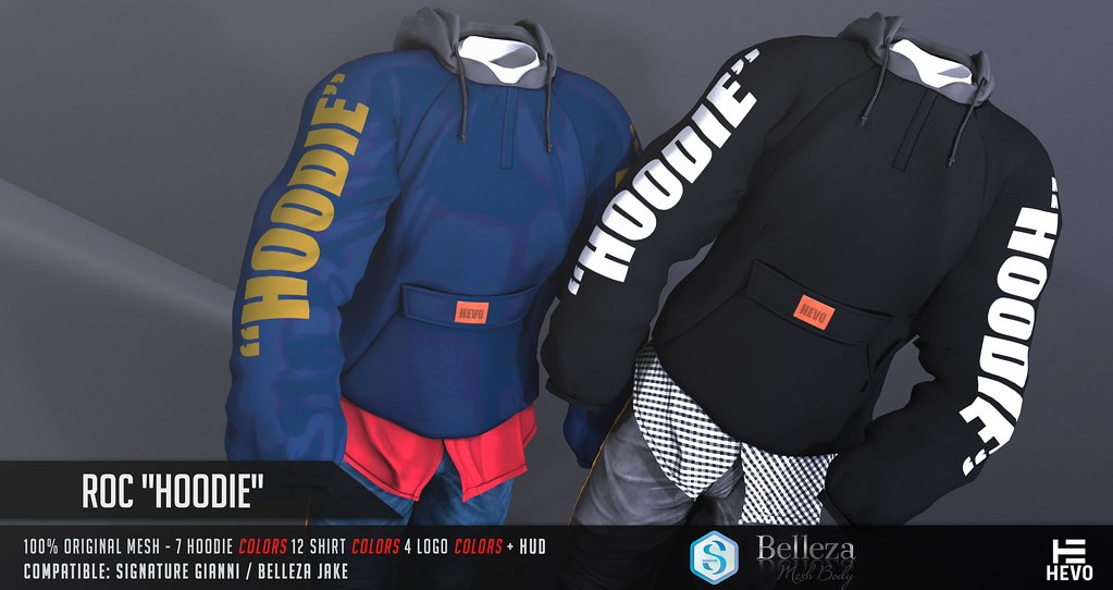 """HEVO - Roc """"Hoodie"""" @ MEN ONLY MONTHLY October 2018 - TeleportHub.com Live!"""