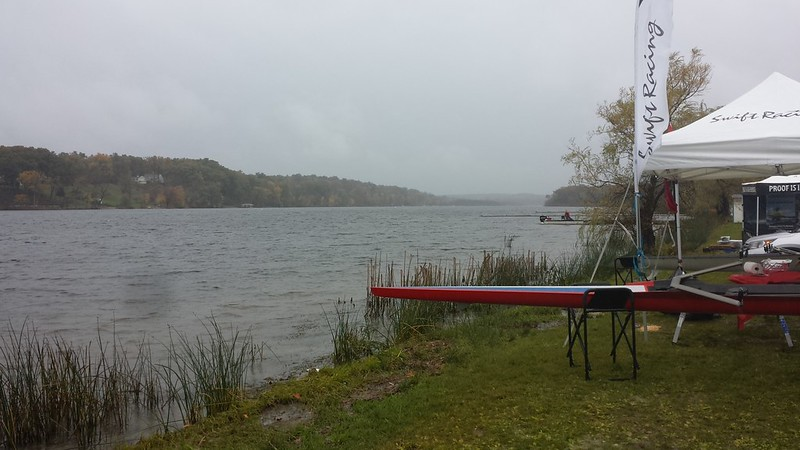 Windy conditions at Fish Creek