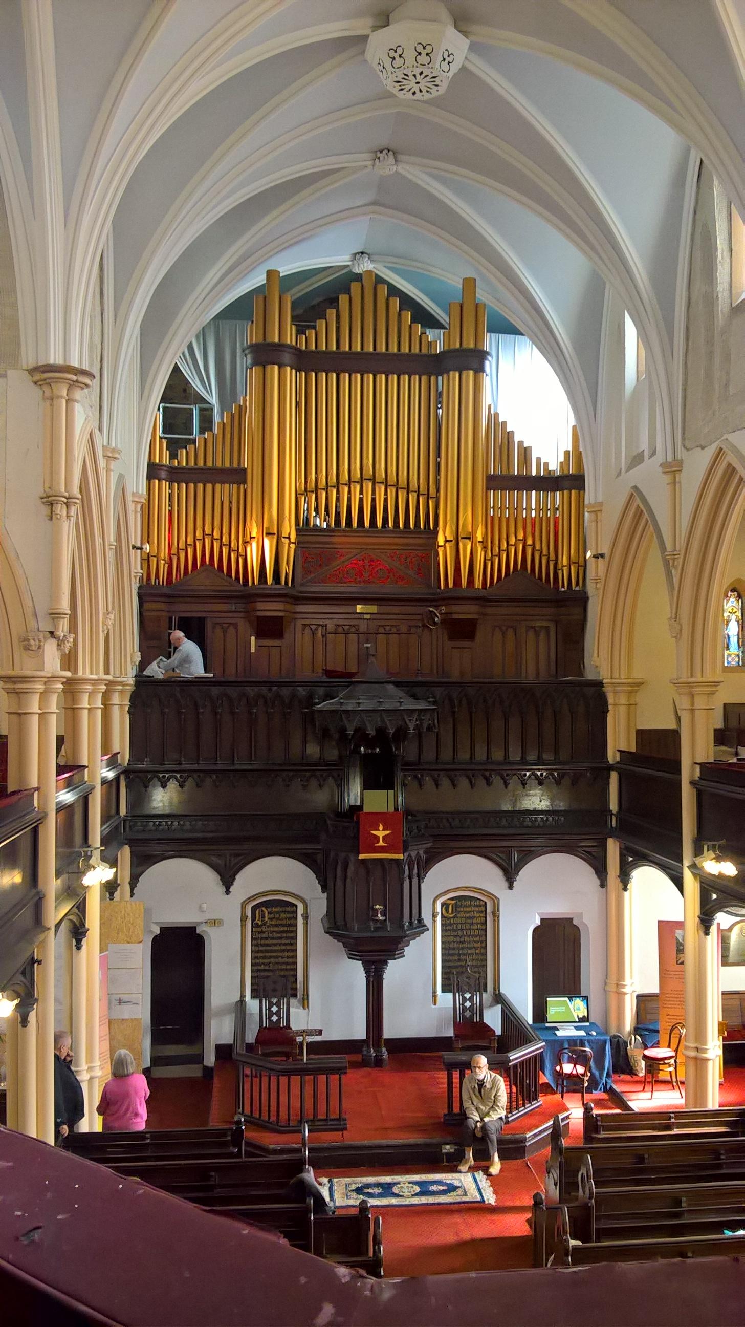 Dukinfield Old Chapel interior