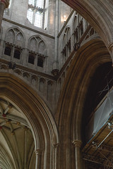 Canterbury Cathedral tower interior