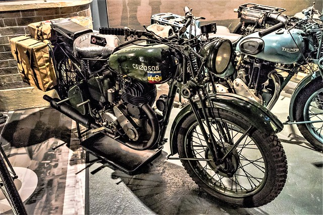 1940 BSA M20, Canon EOS M3, Canon EF-M 15-45mm f/3.5-6.3 IS STM