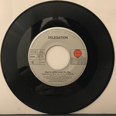 DELEGATION:PUT A LITTLE LOVE ON ME(RECORD SIDE-A)
