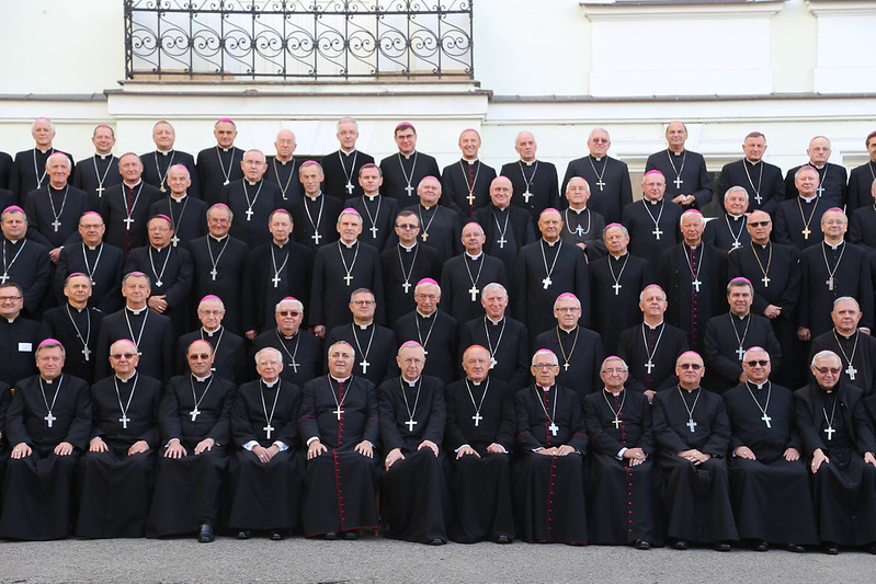 380. Zebranie Plenarne KEP - wspólne zdjęcie