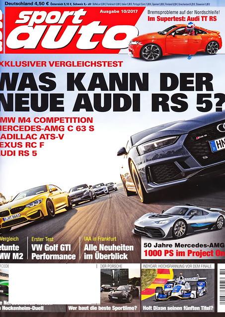 sport auto - 2017-10 - cover