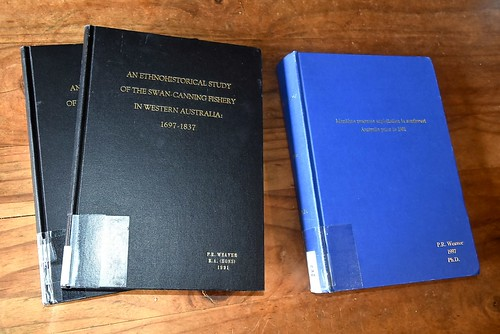 Paul Weavers ECU theses have been digitised
